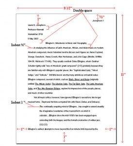 college paper example