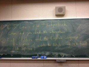 Homework for May 11th, 2012